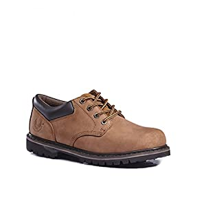 KINGSHOW 8036 Men's Classical Boots (10, Brown 7006)
