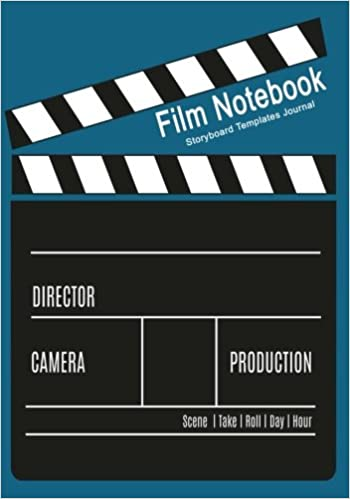 film notebook storyboard templates journal 120 pages 7 x 10 blank journal for film makers video makers animators advertisers etc storyboard notebooks volume 2