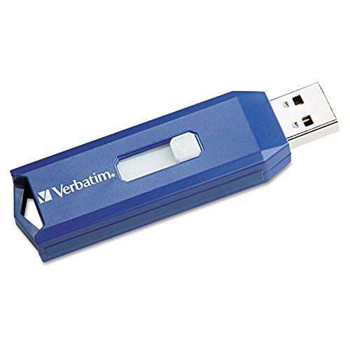 VER97086 Verbatim 97086 Classic USB 2.0 Flash Drive, 2GB, Bl