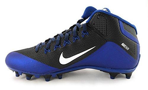 Nike Herren Alpha Pro 2 Fußballschuh Schwarz / Weißrausch Blau
