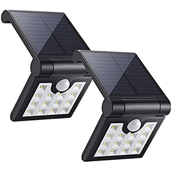 Eceen Solar Light Outdoor Motion Sensor Foldable Garden