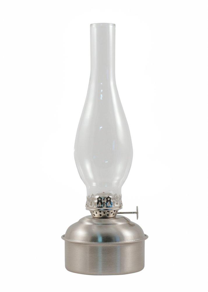 Vermont Lanterns Oil Lamps - Brass Dorset Table Lamp (12'', Pewter)
