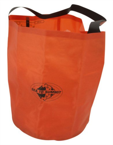 Sea to Summit Folding Bucket Orange 20L by Sea to Summit