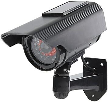 Opinión sobre König SAS-DUMMYCAM90 Negro Bala cámara de Seguridad ficticia - Cámaras de Seguridad ficticias (Bala, Exterior, Negro, De plástico, IP44, Pared)