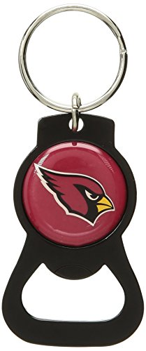NFL Arizona Cardinals Blackout Series Bottle Opener Keychain