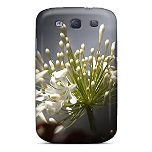 Defender Case For Galaxy S3, Flower Bueaty Pattern