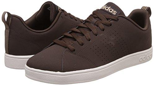 adidas Herren Advantage Clean VS Turnschuhe, Grau, Eu Braun (Marosc / Marosc / Stcaqp)