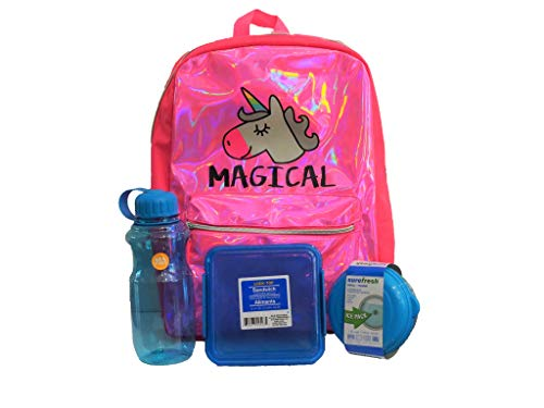 Accessories 22 pink unicorn backpack supply pack