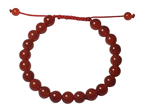 Tibetan Mala Carnelian Wrist Mala Bracelet for Meditation