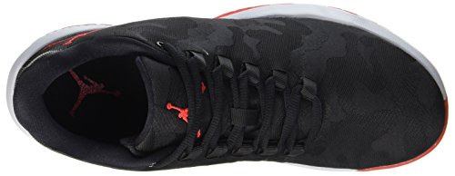 Basketball Menns Nike Sko Sort Ulv Basketball Rød univ 006 Black Red Grey Jordan sort wolf 006 Fly Fly black Jordan Grå B Shoes Men's Univ B Nike wIIA8q