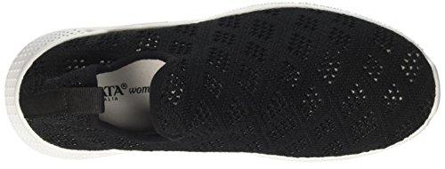 Donna Italia Sneaker Infilare Tata J17110 Nero I8qFSI