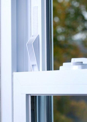cresci the window wedge - adjustable window stop (4 total - 2 two packs)