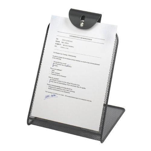 Mesh Copyholder - Safco Products 2158BL Onyx Mesh Copyholder, Black