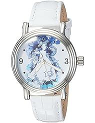 Disney Womens Princess Quartz Metal Casual Watch, Color:Silver-Toned (Model: WDS000179)