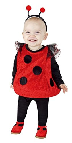 Love Bug Costume Baby (Totally Ghoul Ladybug Vest Baby / Toddler Halloween Costume (1-2 Years))