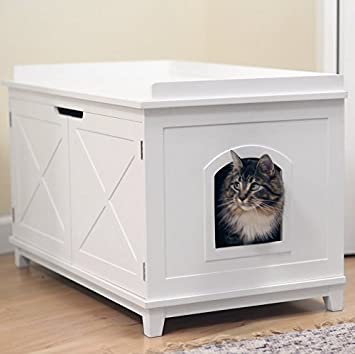 Smart Design Cat Washroom Box Extra-large Litter Boxes & Amazon.com : Smart Design Cat Washroom Box Extra-large Litter ... Aboutintivar.Com