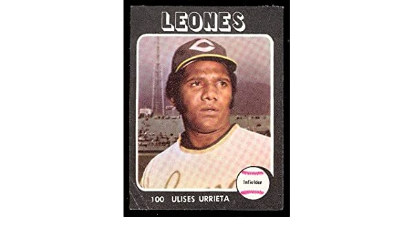 1976 Made in Venezuela Stickers (Baseball) Card# 100 ulises ...