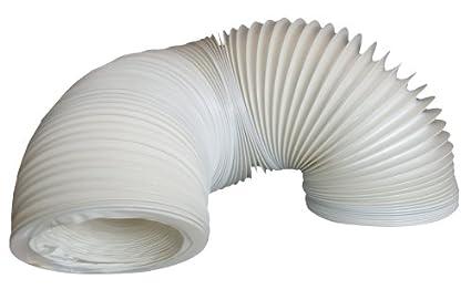 Wpro asg309 trocknerzubehör abluftschlauch für den trockner 3m