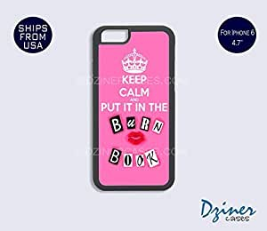 Case Cover For HTC One M7 model - Keep Calm Burn Book