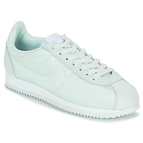 Nike Wmns Classic Cortez Nylon Zapatillas Mujer Verde: Amazon.es: Zapatos y complementos