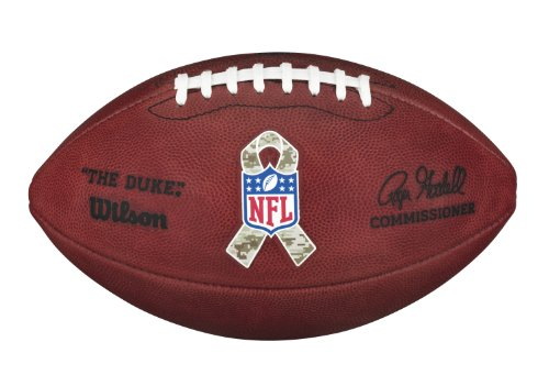 Wilson The Duke NFL Football - Salute to Service
