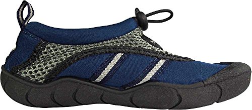 NORTY Young Mens Skeletoe Aqua Wave Water Shoe - Runs 1 Size Small Navy OaaCQHm