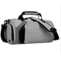 Large Capacity Waterproof Sports Gym & Travel Duffel Bag with Shoe Compartment