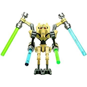 Amazon.com: LEGO Star Wars - General Grievous WHITE minifigure 2014 ...