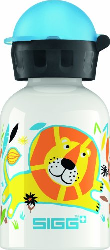 (Sigg Jungle Family Water Bottle, White,)