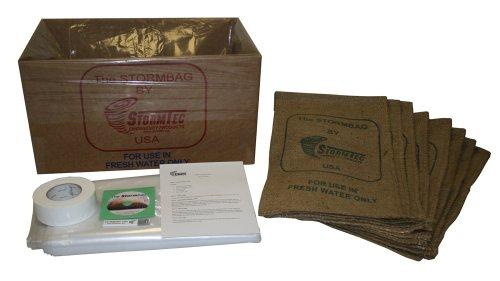 Plastic Sandbags (Stormtec Double Door Stormbag Flood Protection Kit)