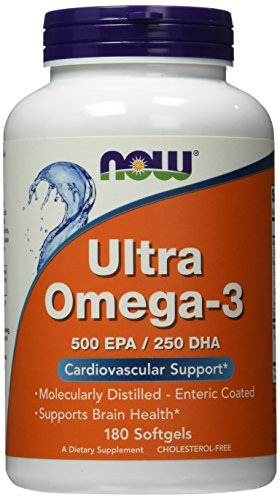 NOW Ultra Omega Fish Softgels