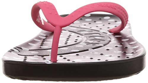 Crocs Dames Chawaii Grafische Flip Flops Klaproos / Zwart