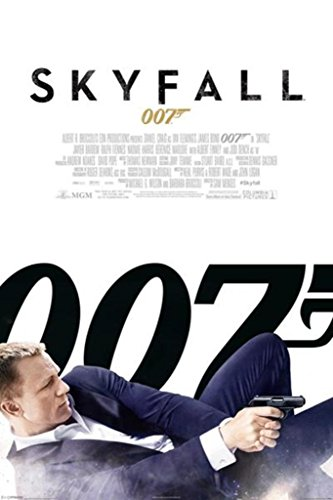 Pyramid America James Bond Skyfall One Sheet Movie Poster 24
