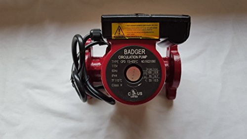 3 speed Circulating Pump 20 GPM use with outdoor furnaces, hot water heat, (Insulated Outdoor Furnace)