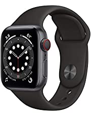 AppleWatch Series 6 (GPS + Cellular, 40mm) - Space Gray Aluminum Case with Black Sport Band