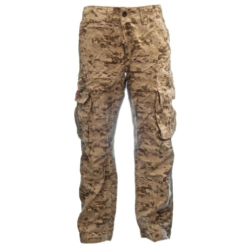 Molecule Mens Sizeups Cargo Pants 52008 - 100% Cotton Pre...