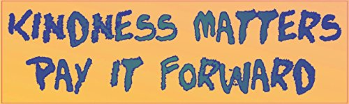 Kindness Matters Forward Sticker Stickers product image