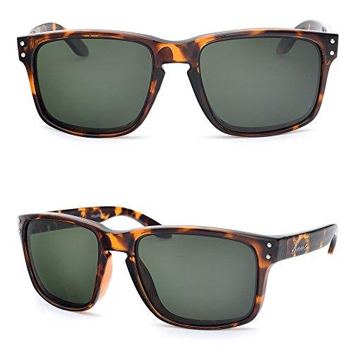5461302db2 BNUS Italy made Sunglasses Corning Real Glass Lens w. Polarized ...