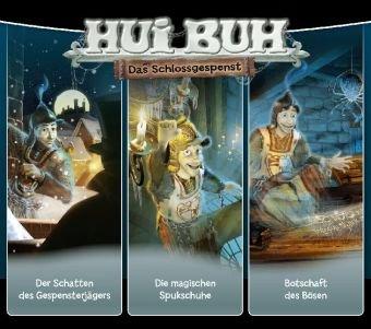 HUI BUH neue Welt Box 02. Spukbox: Folge 4-6: Der Schatten des Gespensterjägers, Die magischen Spukschuhe, Botschaft des Bösen