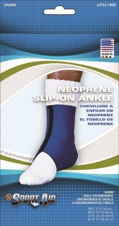 Scott Specialties Sport-Aid Ankle Support - SA9090 BLU LGEA - Large, 1 Each / Each by Scott Specialties