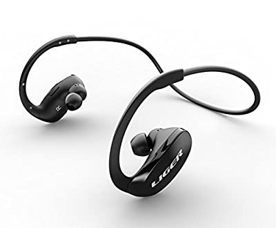 Bluetooth Headphones, Liger XS900 Wireless Bluetooth 4.0 Headphones with Noise Cancelling and Mic - Great for Sports, Running, Gym, Exercise -Wireless Bluetooth Earbuds Headset Earphones