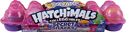 Hatchimals CollEGGtibles, Cosmic Candy Limited Edition Secret Snacks 12-Pack Egg Carton, Girl Toys, Girls Gifts for Ages…
