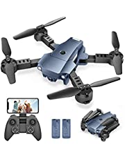 $34 » Snaptaⅰn A10 Mini Foldable Drone with 720P HD Camera FPV WiFi RC Quadcopter w/Voice Control, Gesture Control, Trajectory Flight, Circle Fly, High-Speed Rotation, 3D Flips, G-Sensor, Headless Mode