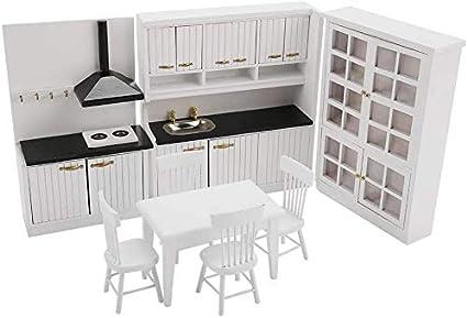 1:12 Accesorios De Casa De Muñecas Decoración De Cocina En Miniatura Para