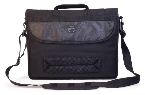 Mobile Edge ECO Laptop Messenger (Eco-Friendly), 17.3-Inch (Black) (Friendly Messenger Eco Canvas)