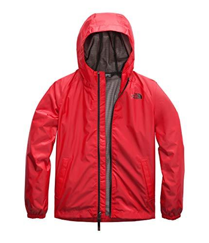 The North Face Kids Boy's Zipline Rain Jacket (Little Kids/Big Kids) Fiery Red XX-Small