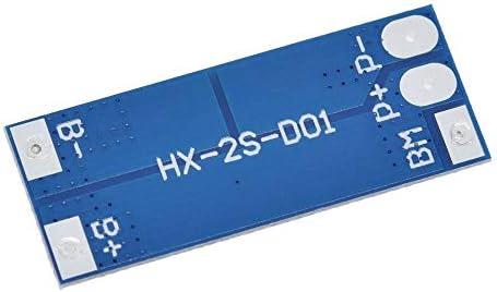 HaiNing Zheng 2S 8AのLi-ion 7.4V 8.4V 18650 BMS PCM 15Aピーク電流バッテリ保護委員会は、PCM用リチウムイオンリポ電池セルパックをBMS