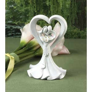 Love's Embrace Cake Top Wedding Ceremony Accessories by Hortense B. Hewitt (Cake Loves Embrace Top)
