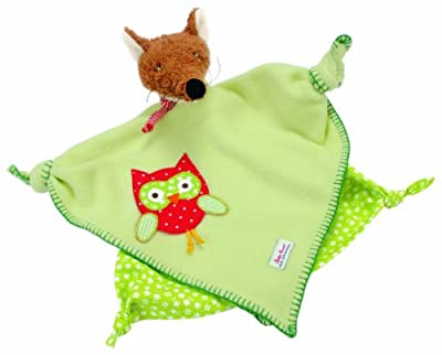 "Kathe Kruse 12"" Baby Towel with Doll, Fox Rascal by Kathe Kruse"