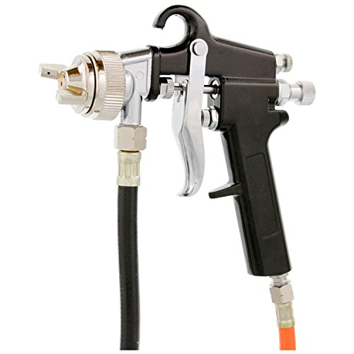 [해외]TCP 글로벌 압력 탱크 페인트 스프레이 건 1.5 mm 노즐 2-1 2 Gal. /TCP Global Pressure Tank Paint Spray Gun with 1.5 Mm Nozzle 2-1 2 Gal. Pressure Pot & Spray Gun with Hoses